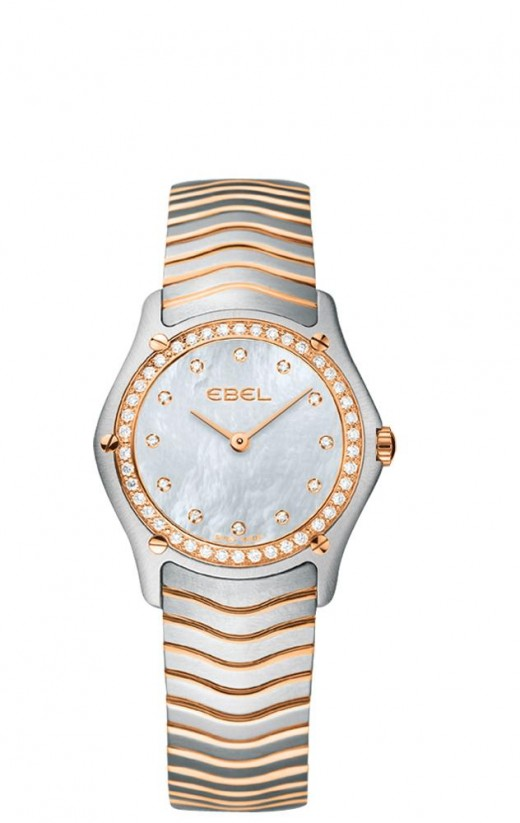 Ebel   Classic Ladies   Two Tone   Rose Gold