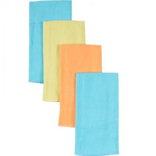 Gerber Rolled Birdseye Prefold Diaper, Multi Color