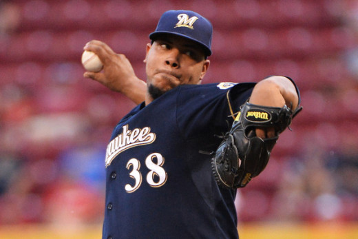 Wily Peralta is Thirsty for a Breakout Year in 2016.