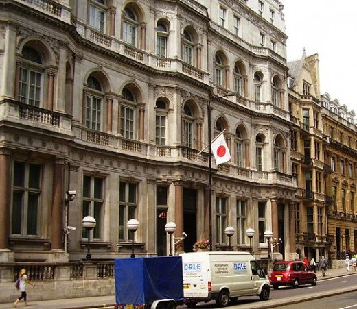 Japanese embassy in London