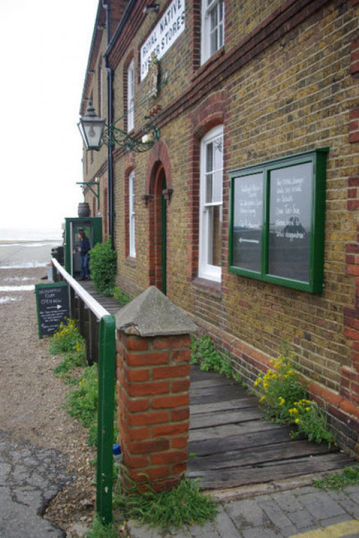 Oyster House, Britain -- where many an evening was spent debating while having oysters and claret.