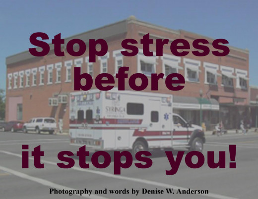 Stress overload can quickly lead to crisis, if we are not careful.