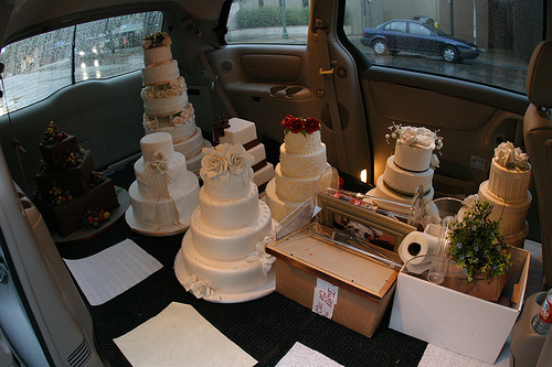 Fake Wedding Cakes by bre pettis via Flickr