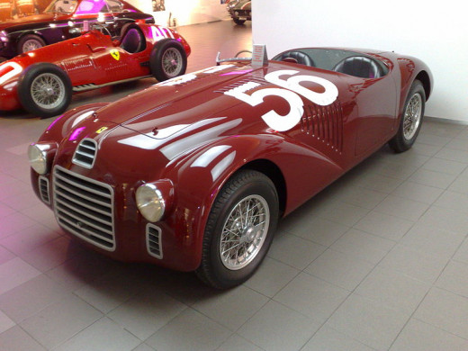 Replica of the Ferrari 125 S