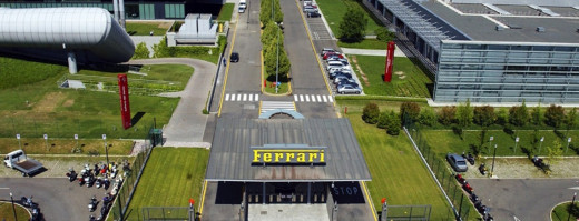 Ferrari  factory and museum, Maranello, Italy