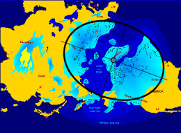 The former glaciation cycle was centred around Greenland