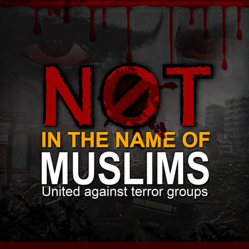 Source: Not in the Name of Muslims Facebook page (https://www.facebook.com/NotInTheNameOfMuslims/)
