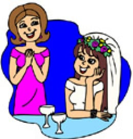 Hire a day-of wedding planner and let you and your mom enjoy your wedding day!