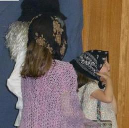 Immigrant family arriving at Ellis Island