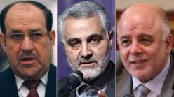 Major rifts between al-Abadi and al-Maliki, and the role of Iran's Quds Force