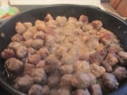 Swedish Meat Balls for Christmas Eve