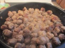 Swedish Meat Balls for Christmas Eve