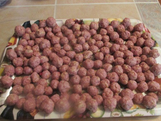 135 little meatballs
