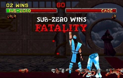 Mortal Kombat Brutal In-Game Finishing Move
