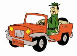 Ranger Smith on patrol