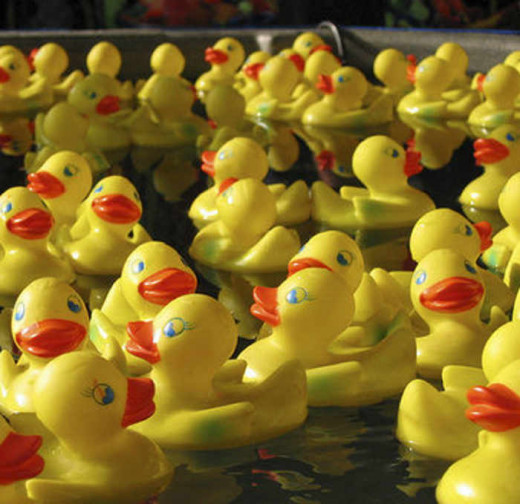 Can you ever really have too many rubber duckies?