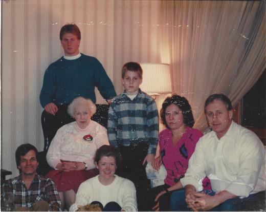 Cherven Family - Christmas 1990.