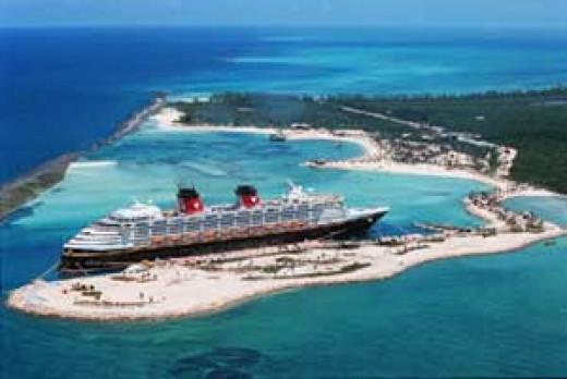 Castaway Key with Disney's Cruise Ship
