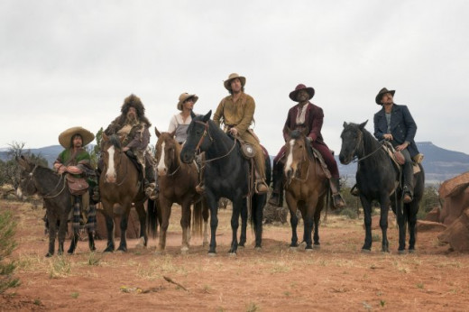 The Main Cast of Ridiculous 6