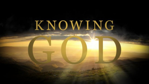 The key to a tangible faith is knowing God.