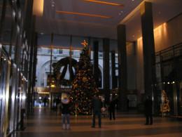Manhattan, New York, Christmas 2011.