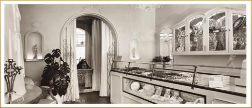 First Godiva Chocolatier shop
