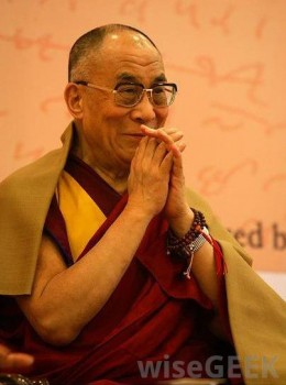 The 14th Dalai Lama of Tibet