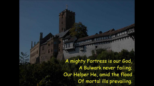 """A Mighty Fortress is our God"""
