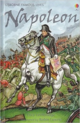 Napoleon (Usborne Famous Lives Gift Books) by Lucy Lethbridge