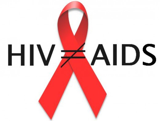 Common misconceptions about HIV and AIDS.