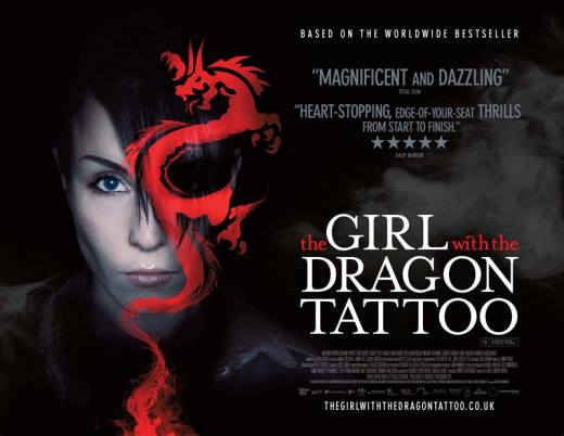 "Poster for ""The Girl With The Dragon Tattoo"""