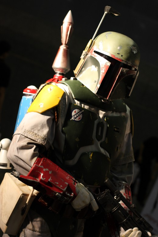 Boba Fett, Singapore Toy, Games & Comic Convention 2009