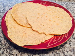 Garbanzo Bean Flour Tortillas
