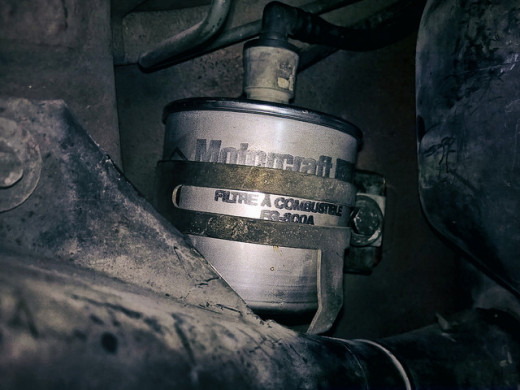 Replace the fuel filter once a year or at your manufacturer recommended interval.