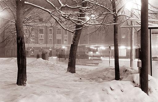 Still, snowy, Slovian night.