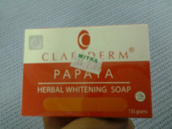 Personal Product Review: Clariderm Papaya Soap
