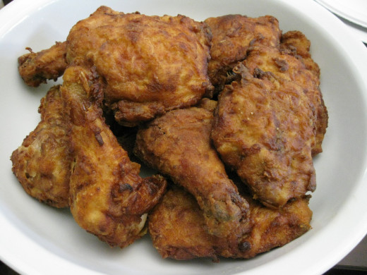 Fried Chicken in the US, By Arnold Gatilao from Fremont, CA, USA (Fried Chicken) [CC BY 2.0 (http://creativecommons.org/licenses/by/2.0)], via Wikimedia Commons