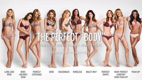 Victoria's Secret got in big trouble with this ad, which was said to be fat-shaming women.
