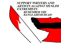 The killing of artists and writers. Religious insanity.