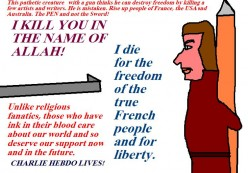 The French have a right to life and liberty.