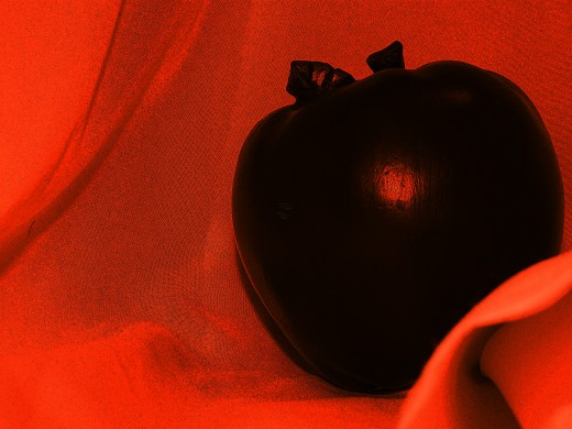 Although His role is mostly lost in modern times, the Trickster was once hailed as a Teacher. Hmm, Teacher, apples...