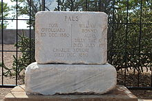 Headstone of Billy the Kid