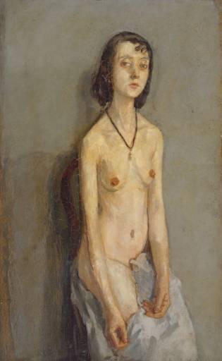 Nude girl 1910