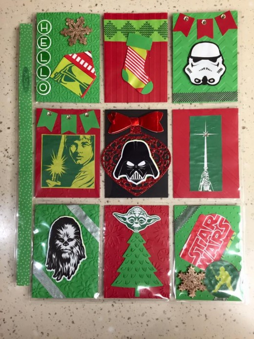 Star Wars Christmas Pocket Letter