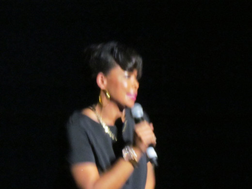 The performance was hosted by the very talented Trina B Real.
