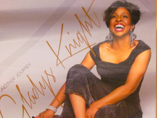 "Photography/Art Direction/Design is by  Derek Blanks, on Gladys Knight's current CD entitled, ""Another Journey."""
