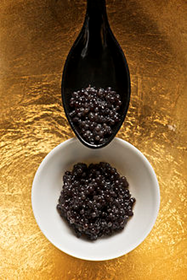 The precious Beluga caviar, most highly prized of all!