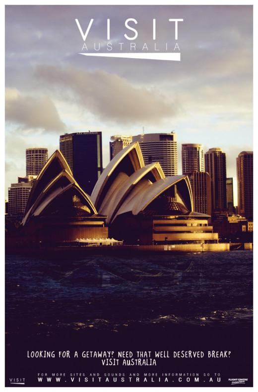 Convincing Poster for Sydney, Australia
