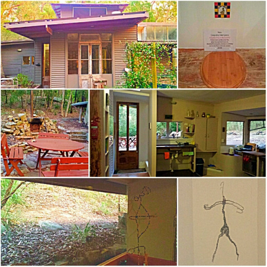 Unique experience of staying in a cabin in the woods