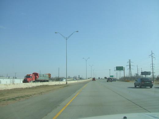 A freeway